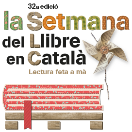 Kiosks and structures made of pallets for a Setmana del Llibre en Catala 6