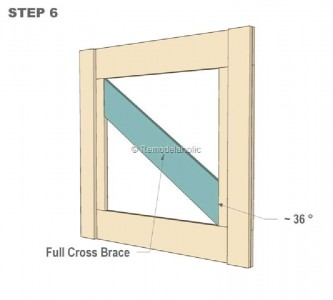 Plans to build a small door and safeguard your babies 3