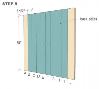 Plans to build a small door and safeguard your babies 4