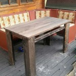 Plans to make a table with pallet planks 1