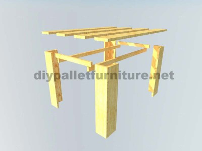 Plans to make a table with pallet planks 2