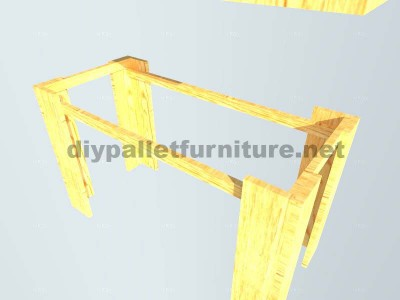 Plans to make a table with pallet planks 5