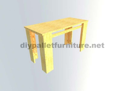 Plans to make a table with pallet planks 6