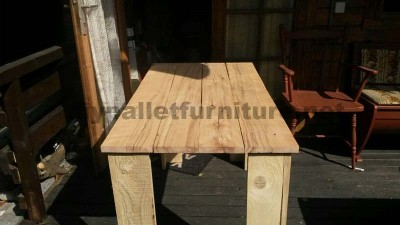 Plans to make a table with pallet planks 7