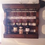 Wine rack for the dining room