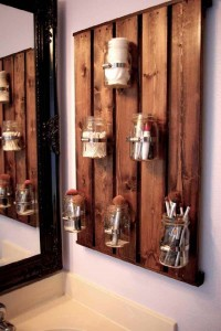 10 great ideas to decorate your bathroom with pallets 9