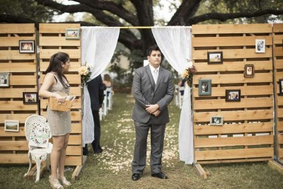 13 wedding decoration ideas using the pallets 5