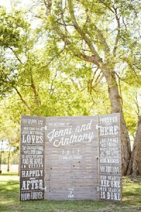 13 wedding decoration ideas using the pallets 7
