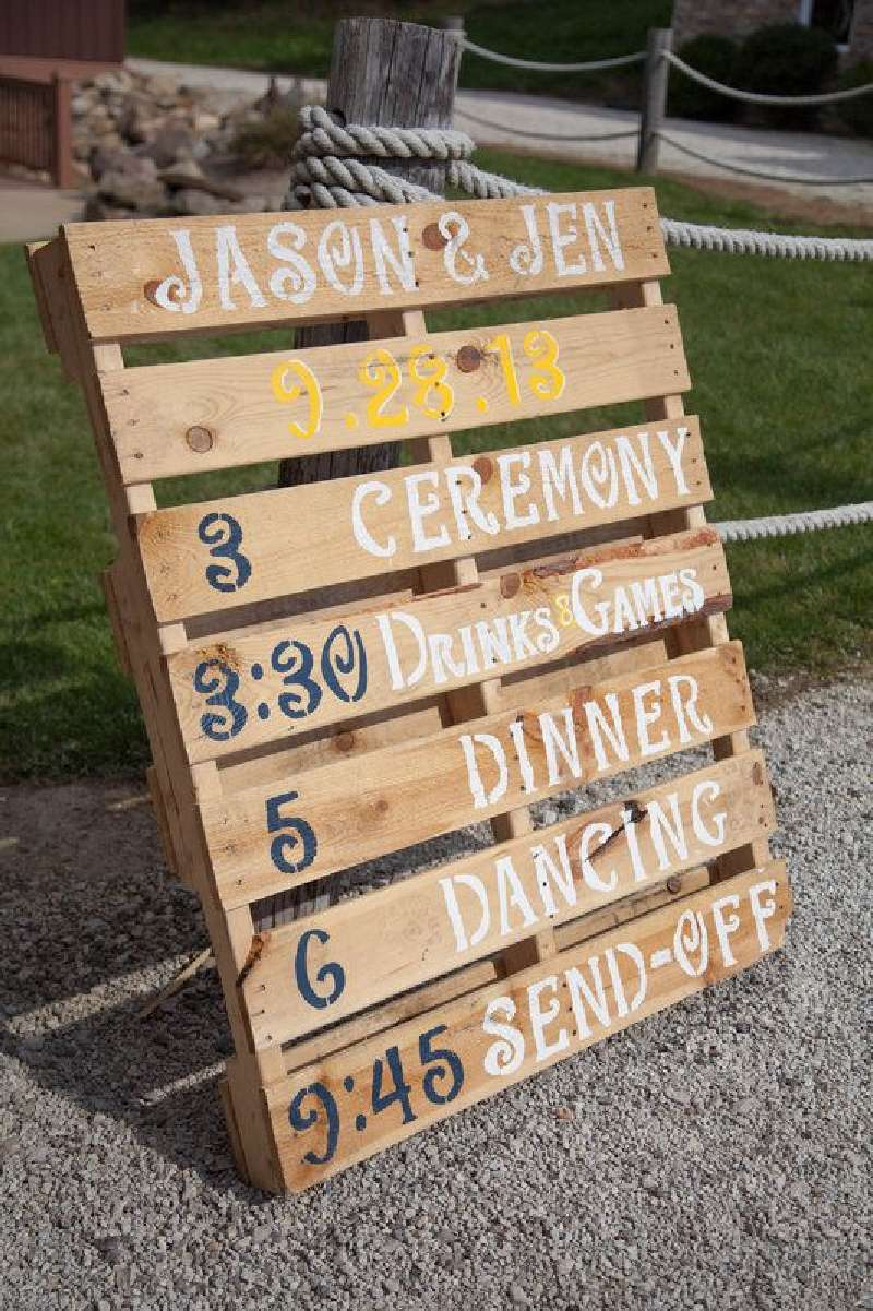 13 wedding decoration ideas using the pallets 8diy pallet for Decorating ideas using pallets