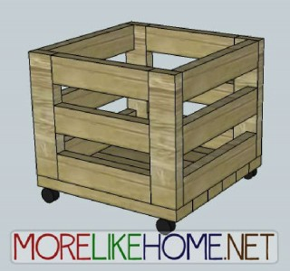 A nice box made of pallet planks 2