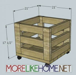 A nice box made of pallet planks 3