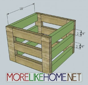 A nice box made of pallet planks 5
