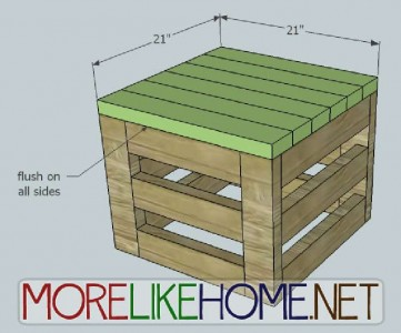 A nice box made of pallet planks 6