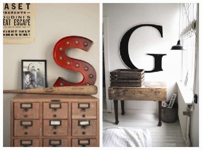 Design and build a decorative letter using pallet boards 2