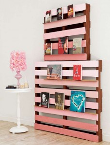 How to build a design bookcase to place your books 1