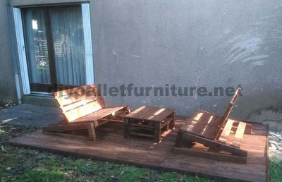 Improve your garden with just some wooden pallets 2