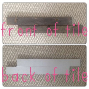 Instructions of how to coat the wall of a living room using pallets 2