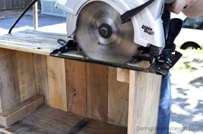 Instructions of how to make a storage pallet box 10