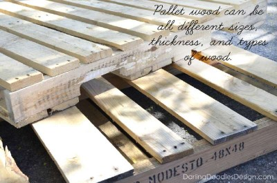 Instructions of how to make a storage pallet box 2