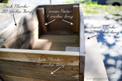 Instructions of how to make a storage pallet box 5