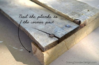 Instructions of how to make a storage pallet box 6
