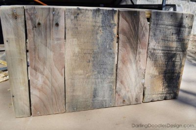 Instructions of how to make a storage pallet box 9