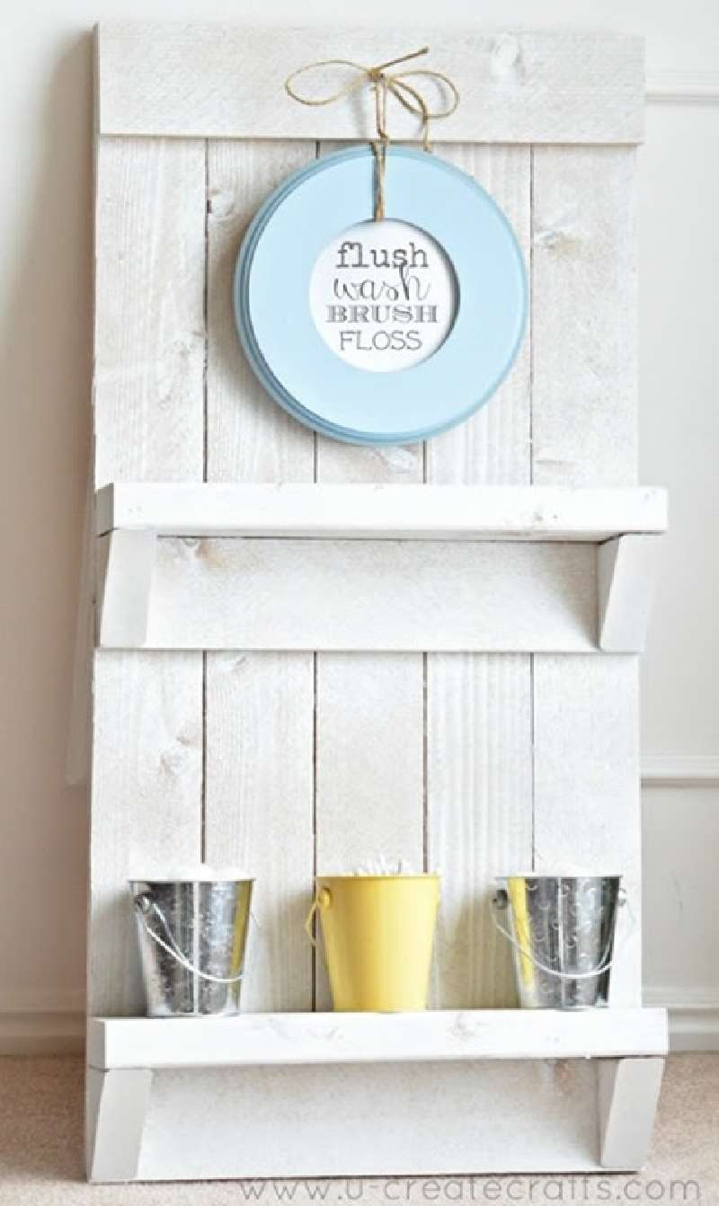 Instructions To Create A Pallet Furniture Rack For The