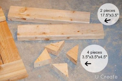 Instructions to create a pallet furniture rack for the bathroom 4