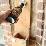 Instructions to make a bottle opener using pallets