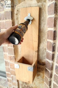 Instructions to make a bottle opener using pallets 1
