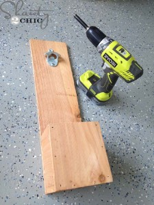 Instructions to make a bottle opener using pallets 7