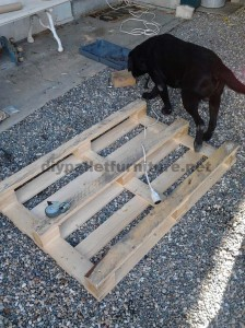 Step by step instructions to build a lounge room table with pallets 1