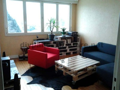 Step by step instructions to build a lounge room table with pallets 7