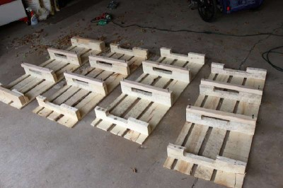 Step by step instructions to build a shoerack using pallets 12