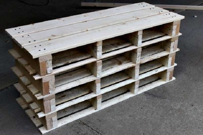 Step by step instructions to build a shoerack using pallets 18