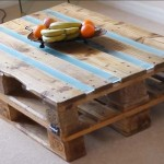 Video instructions of how to do a table with 2 pallets