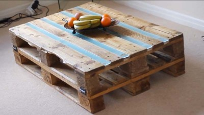 Video instructions of how to do a table with 2 pallets 7