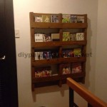 Magazine library using just one pallet