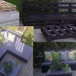10 Wonderful ideas to decor your garden using pallets