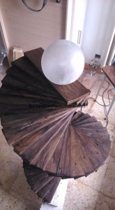 Amazing floor lamp made with pallets 4