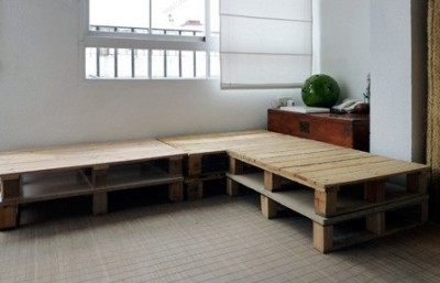 Build a pallet sofa in 3 easy steps 1