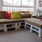 Build a pallet sofa in just 3 easy steps
