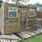 Pallet shed project: The pallet coating