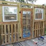 Pallet shed project: The doors and windows