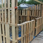 Pallet shed project: The pallet walls