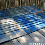 Pallet shed project: the pallet floor