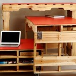 3 Pallet tables for rooms with limited space