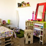 Youth Bedroom fully furnished with pallets