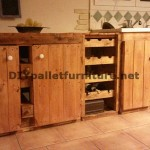 Fully furnished kitchen with pallets