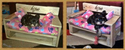 Pet cribs ideas built with pallets 1